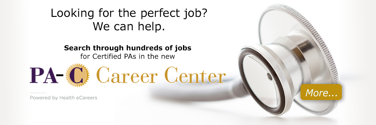 PA-C Career Center