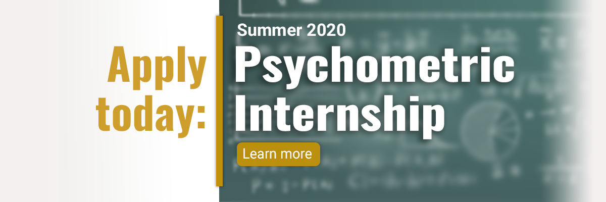 Psychometric Internship