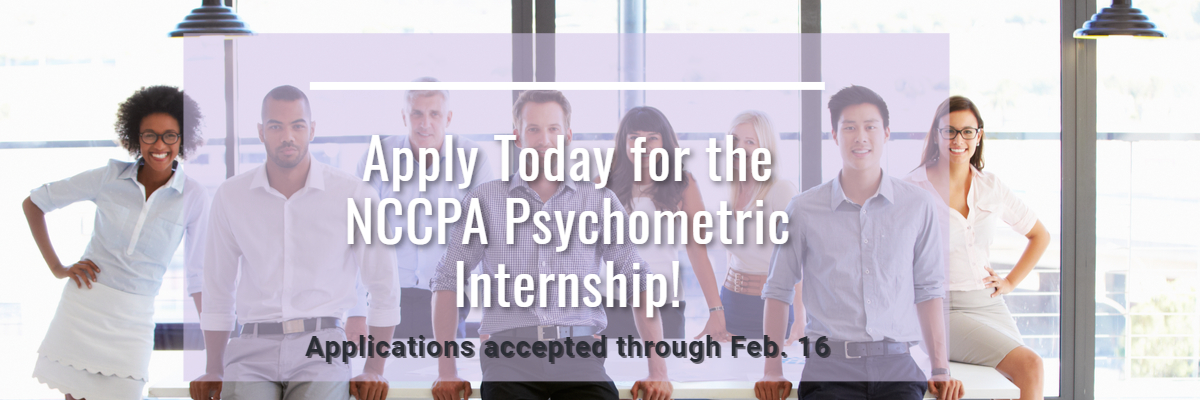 2021 Psychometric Internship